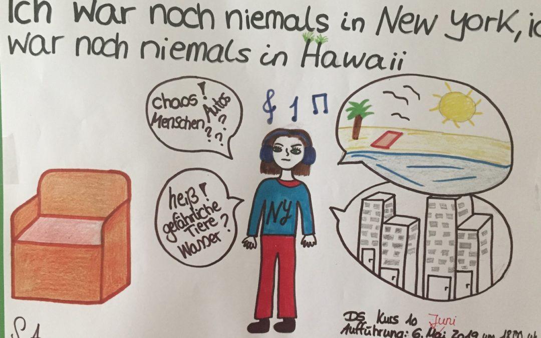 Ich war noch niemals in New York, ich war noch niemals in Hawaii