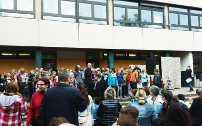 Das Schulfest 2015 ist eröffnet!