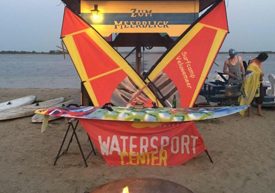 Surftaufe in Veluwemeer – Surfcamp 2016