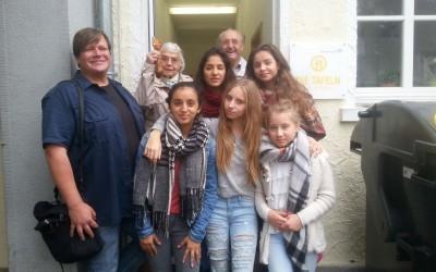 Spende der Klasse 7a an die Ökumenischen Obdachlosen – Hilfe e.v. Frankenthaler Tafel