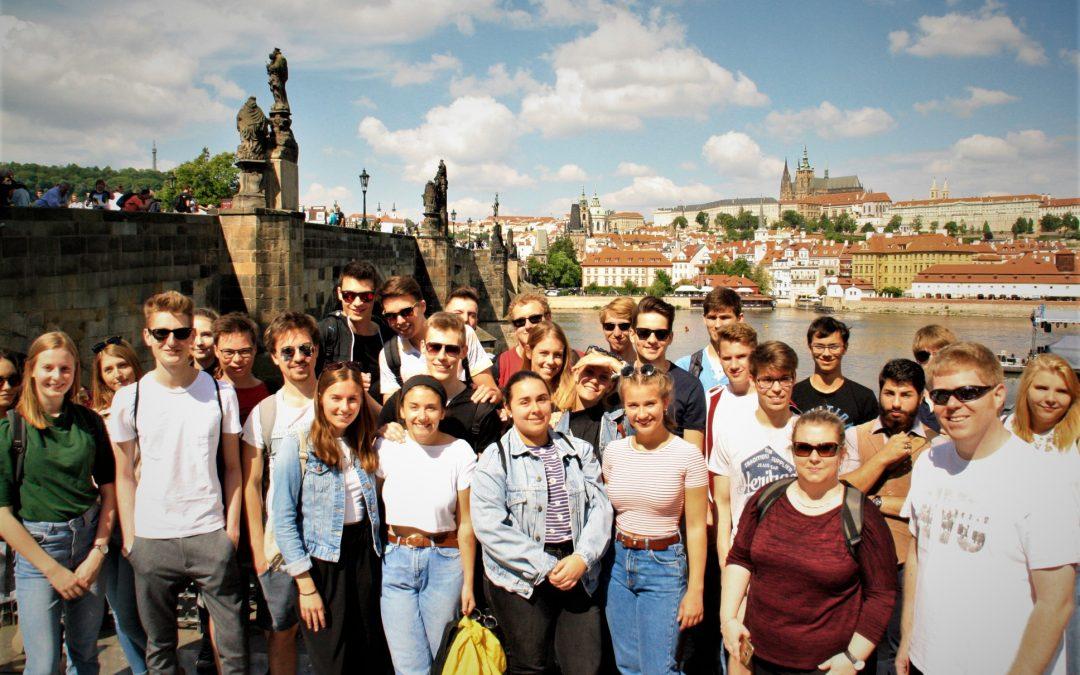Abschlussfahrt nach Prag