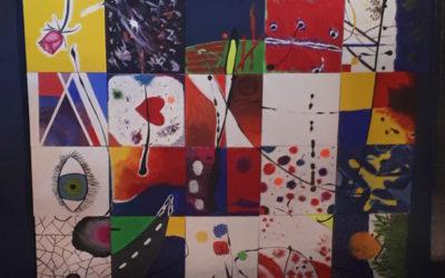 DS-Kurs 12 und Malerin Doris Schwarz präsentieren Kunstprojekt